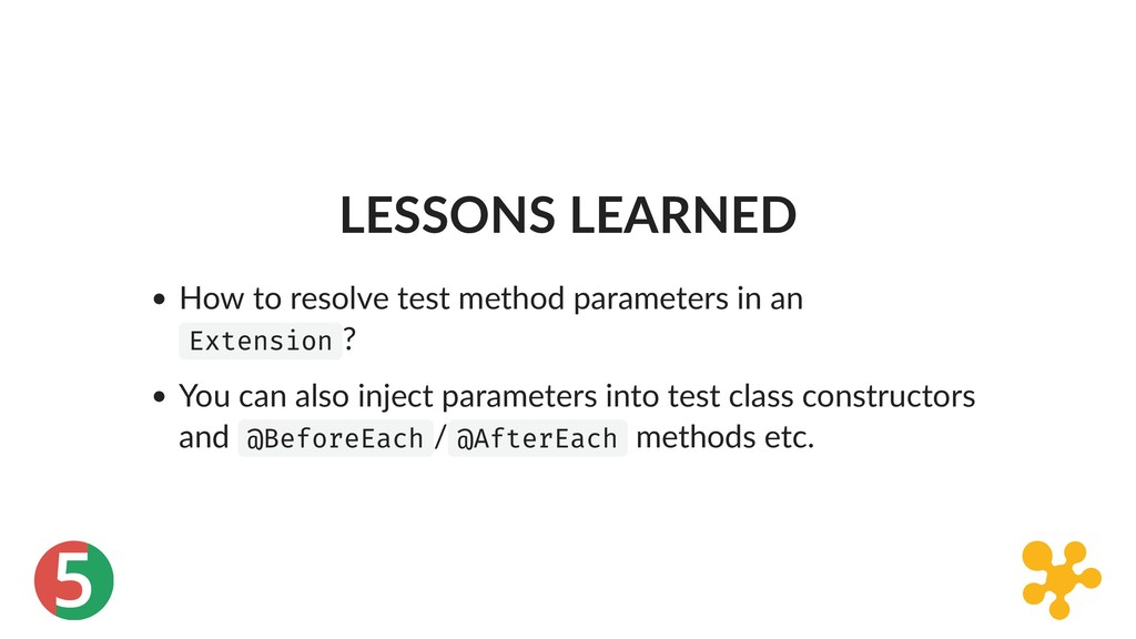 5 LESSONS LEARNED How to resolve test method pa...