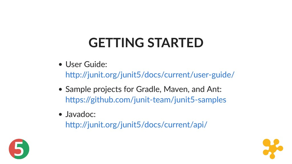 5 GETTING STARTED User Guide: Sample projects f...