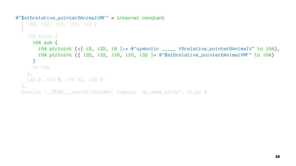 "@""$s16relative_pointer6AnimalVMF"" = internal co..."