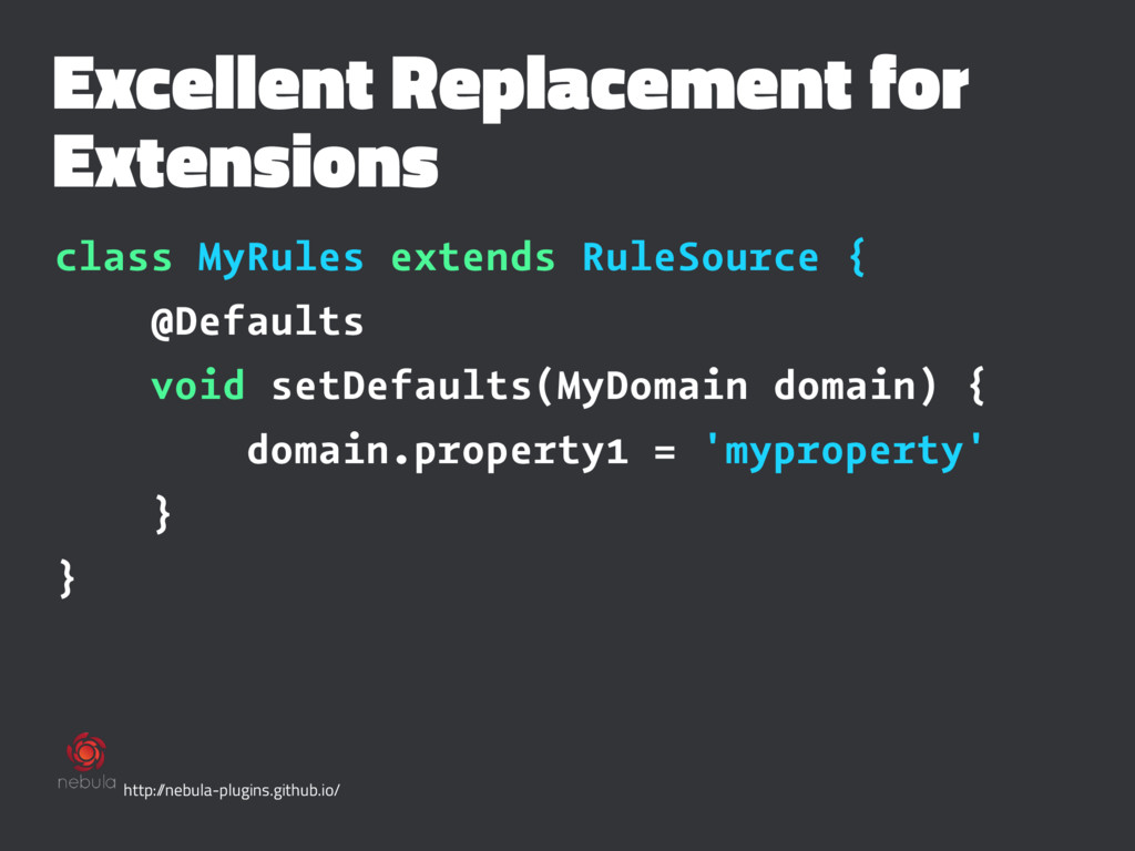 Excellent Replacement for Extensions class MyRu...
