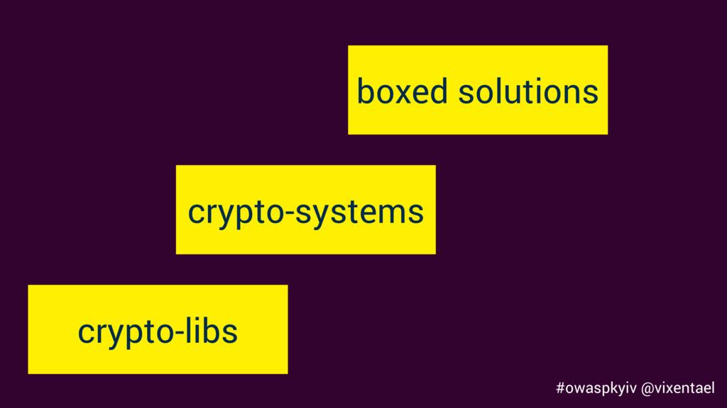 #owaspkyiv @vixentael crypto-libs crypto-system...