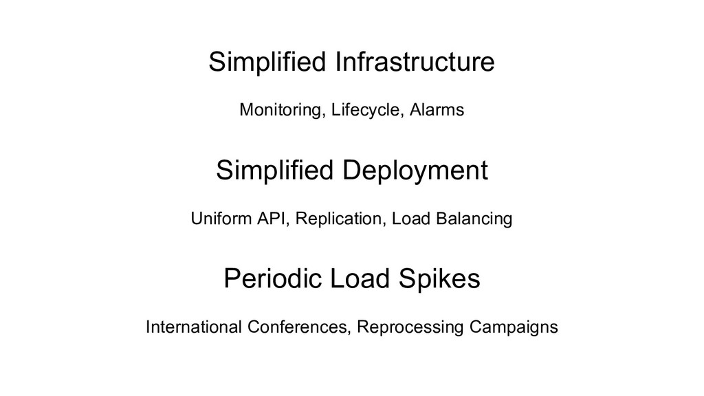 Simplified Infrastructure Monitoring, Lifecycle...