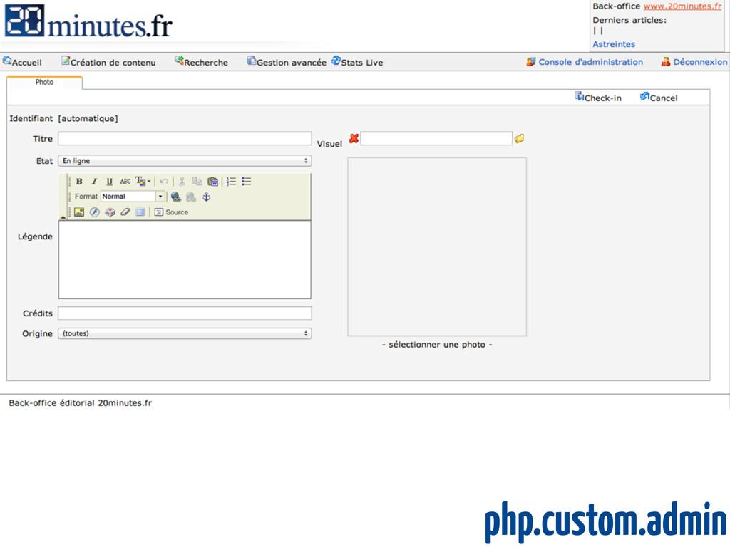 php.custom.admin