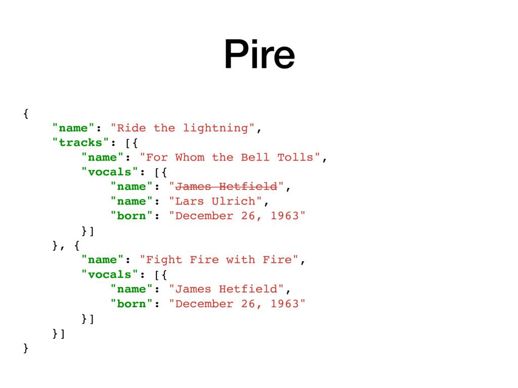 """{ """"name"""": """"Ride the lightning"""", """"tracks"""": [{ """"n..."""