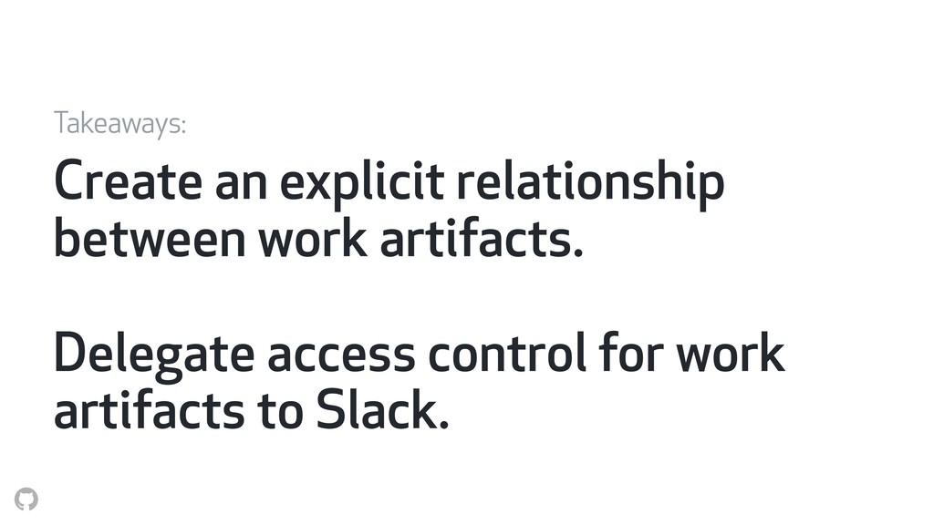 Create an explicit relationship between work ar...