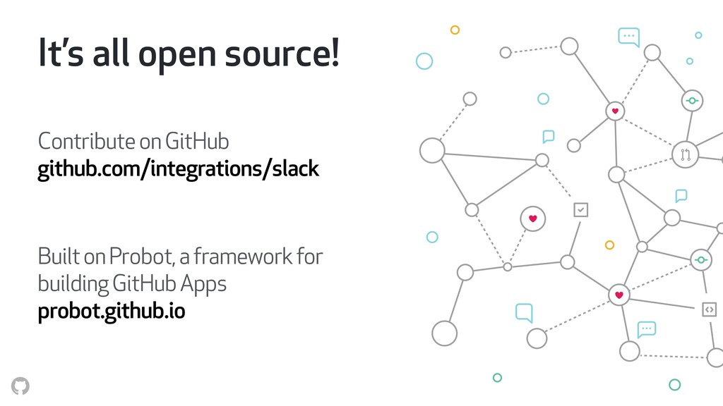 It's all open source! Contribute on GitHub git...