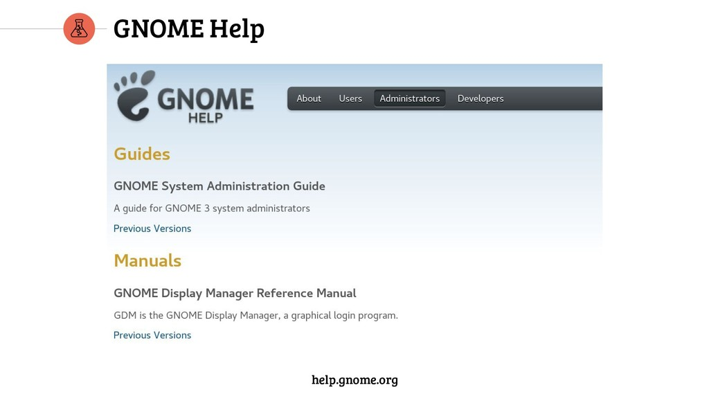 GNOME Help help.gnome.org