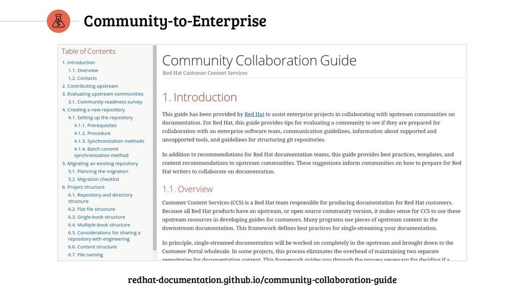 Community-to-Enterprise redhat-documentation.gi...