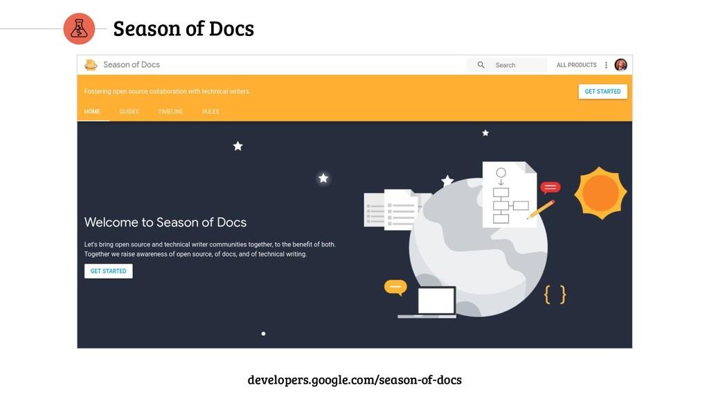 Season of Docs developers.google.com/season-of-...