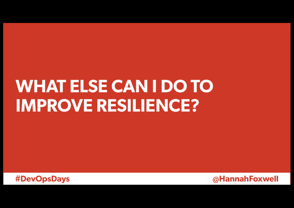 #DevOpsDays @HannahFoxwell WHAT ELSE CAN I DO T...