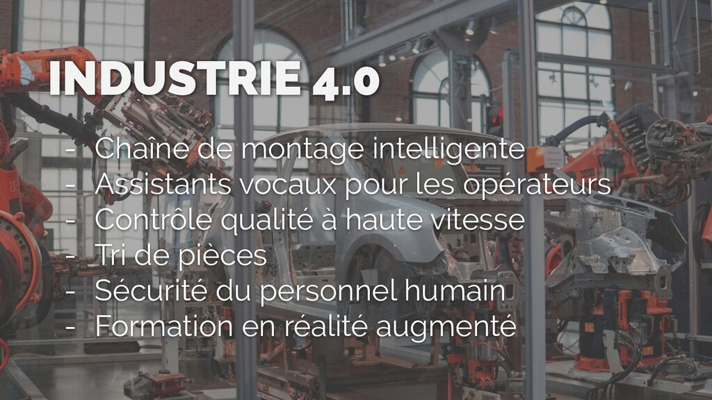 INDUSTRIE 4.0 - Chaîne de montage intelligente ...