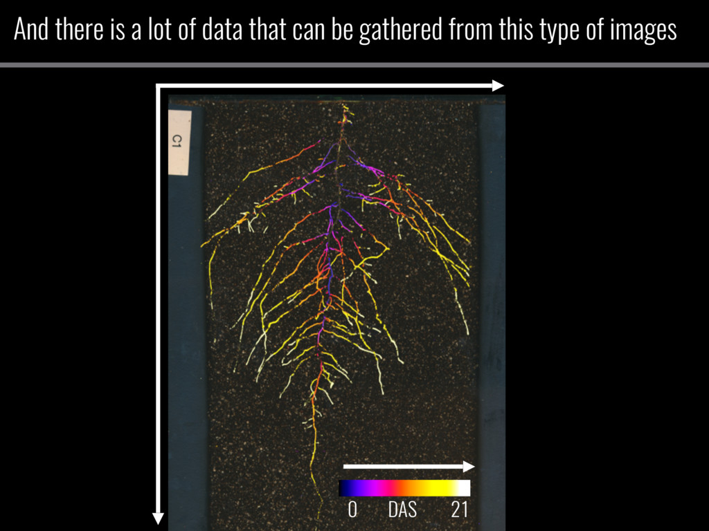 And there is a lot of data that can be gathered...