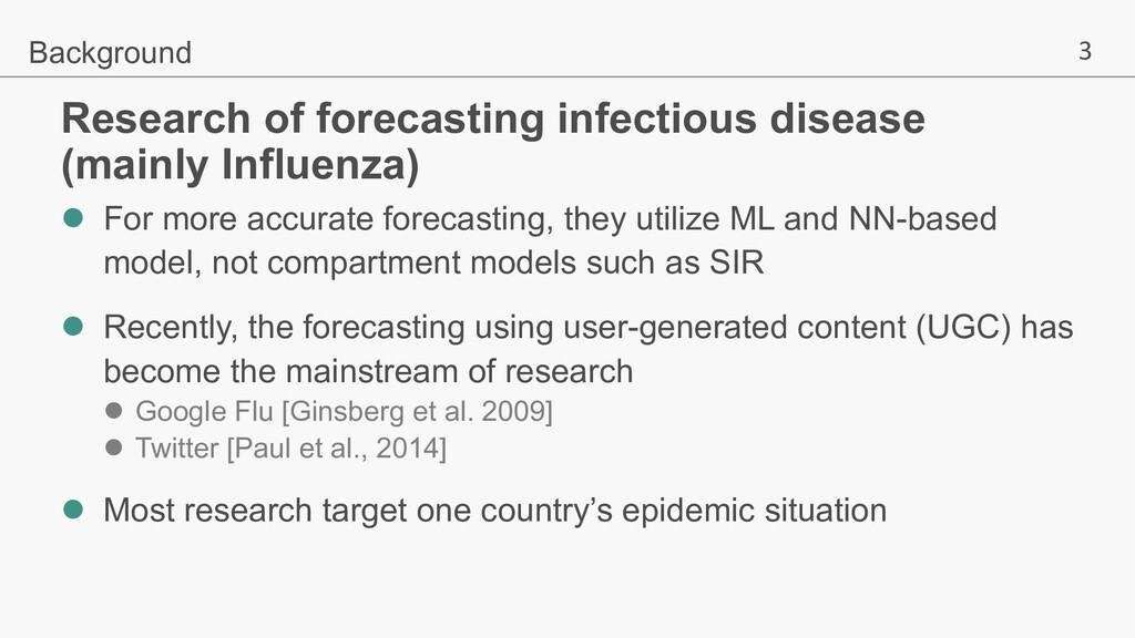 3 Research of forecasting infectious disease (m...