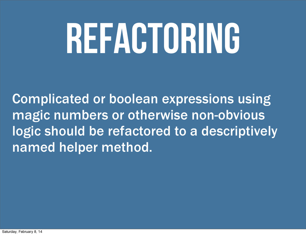 Complicated or boolean expressions using magic ...