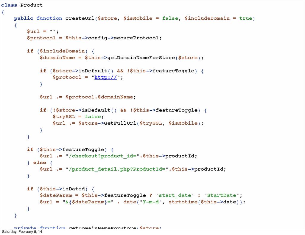 class Product { public function createUrl($stor...