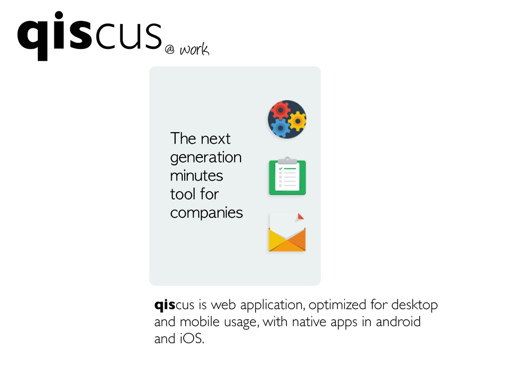qiscus qiscus is web application, optimized for...