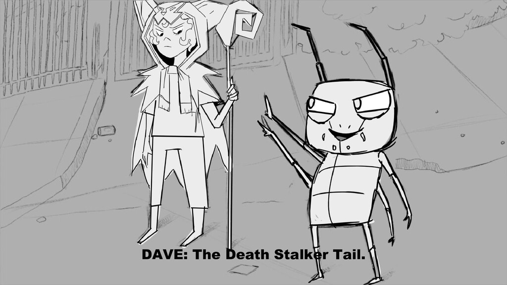 DAVE: The Death Stalker Tail.