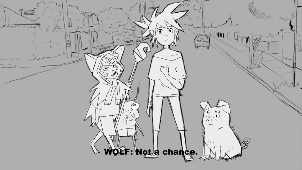 WOLF: Not a chance.