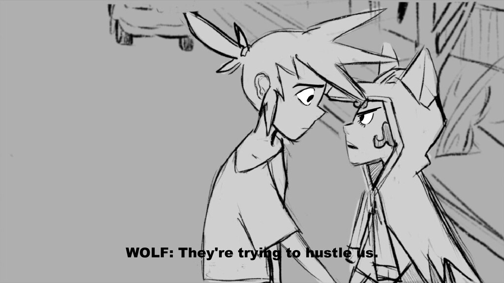 WOLF: They're trying to hustle us.