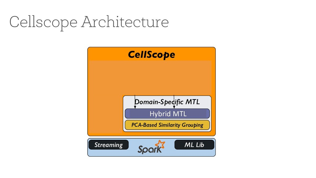 Cellscope Architecture CellScope Domain-Specific...