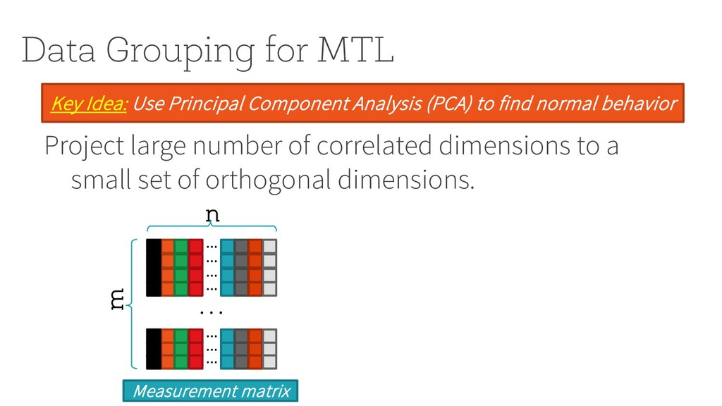 Data Grouping for MTL Project large number of c...