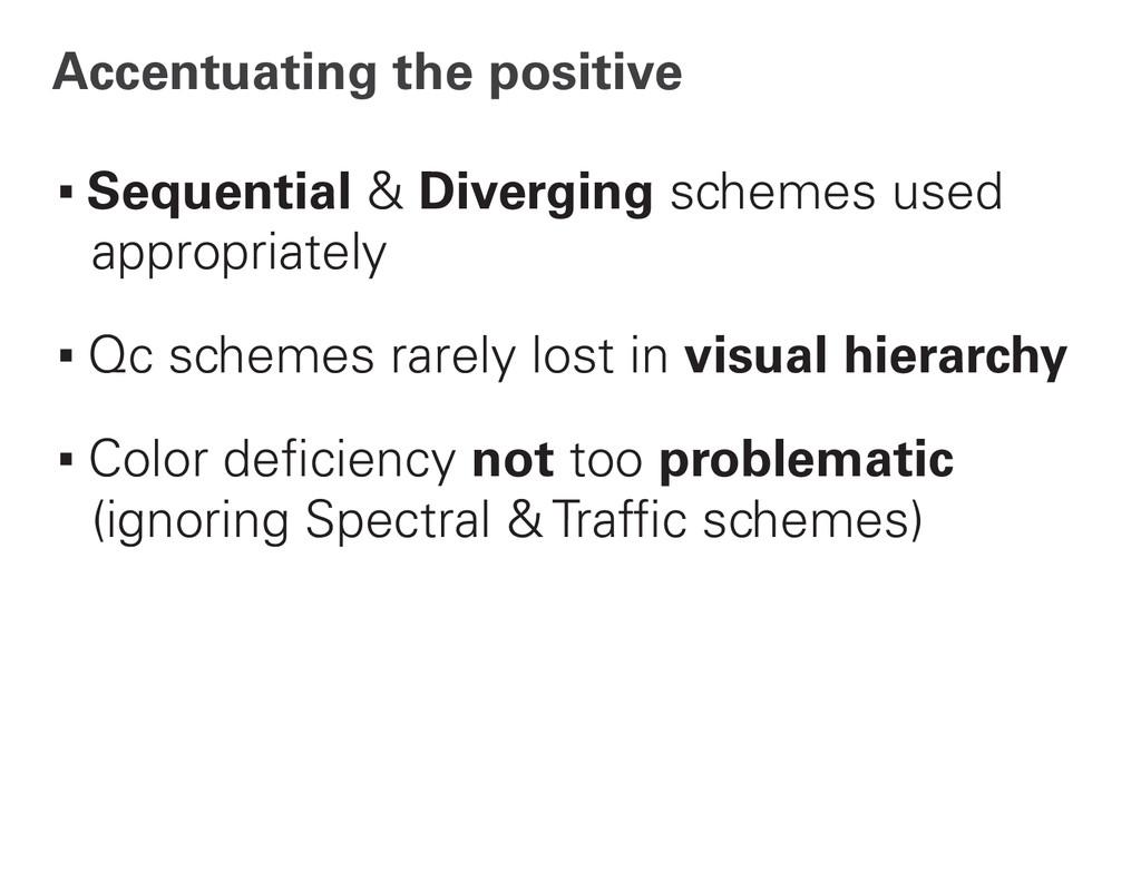Accentuating the positive ∙Sequential & Divergi...