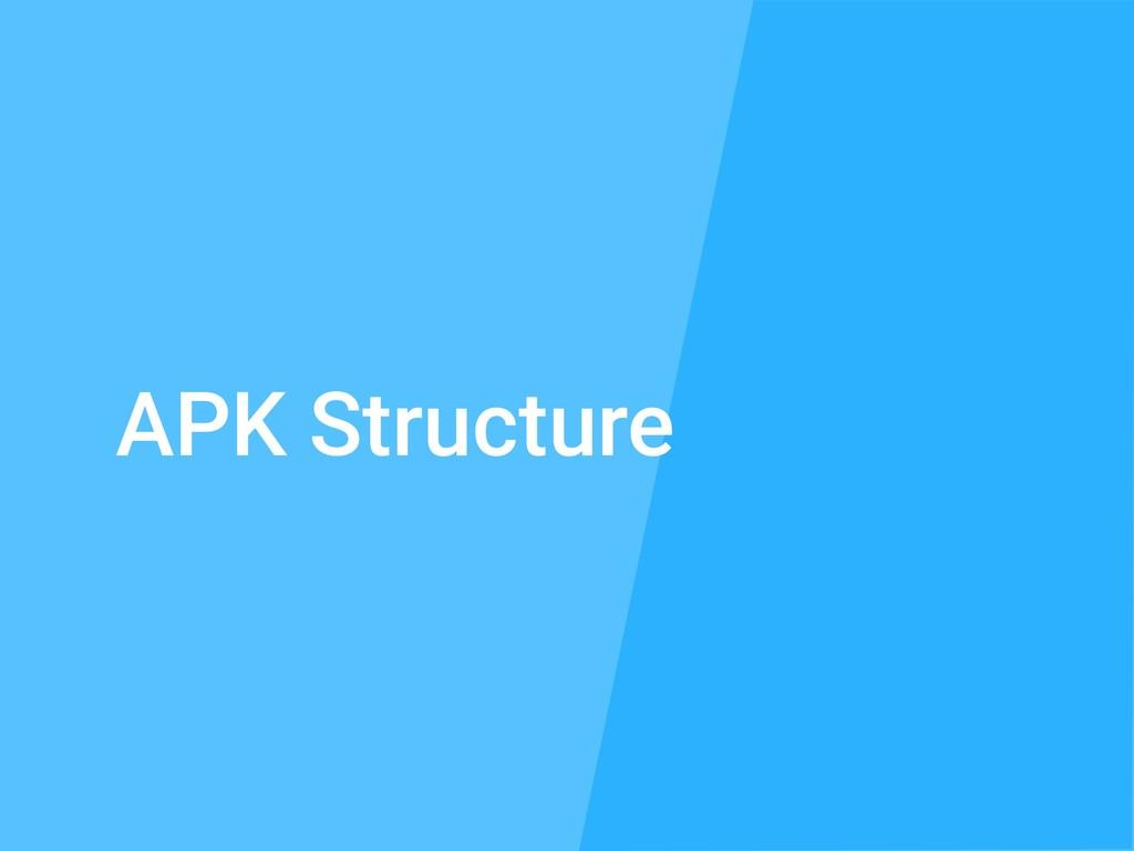 APK Structure