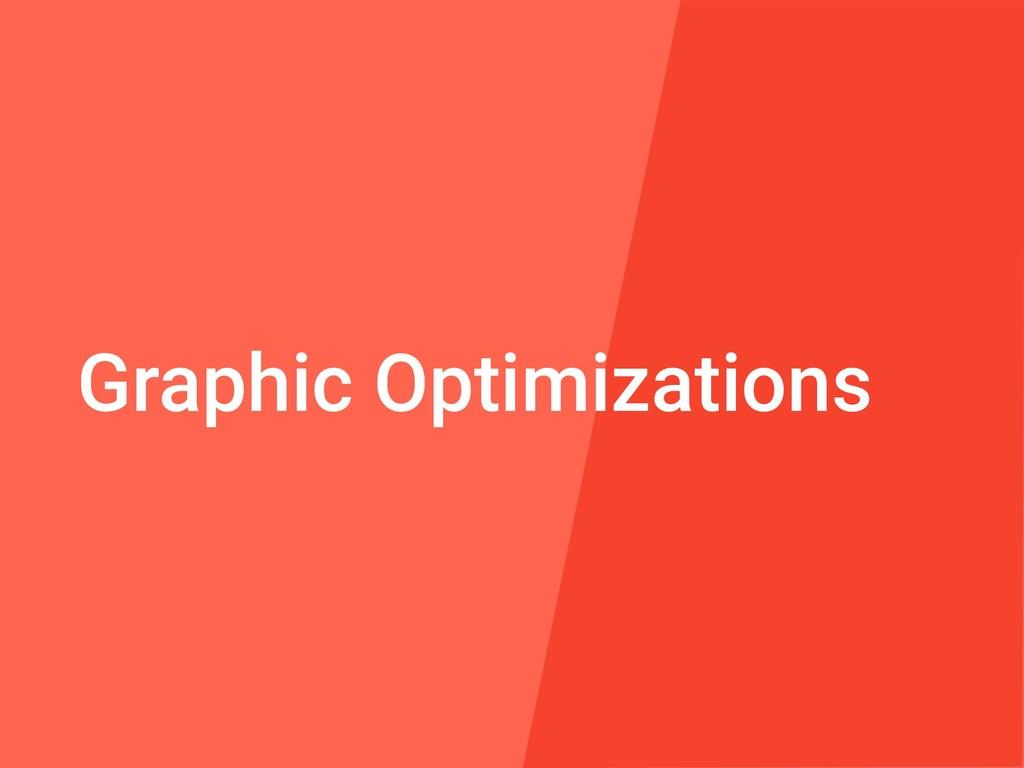 Graphic Optimizations