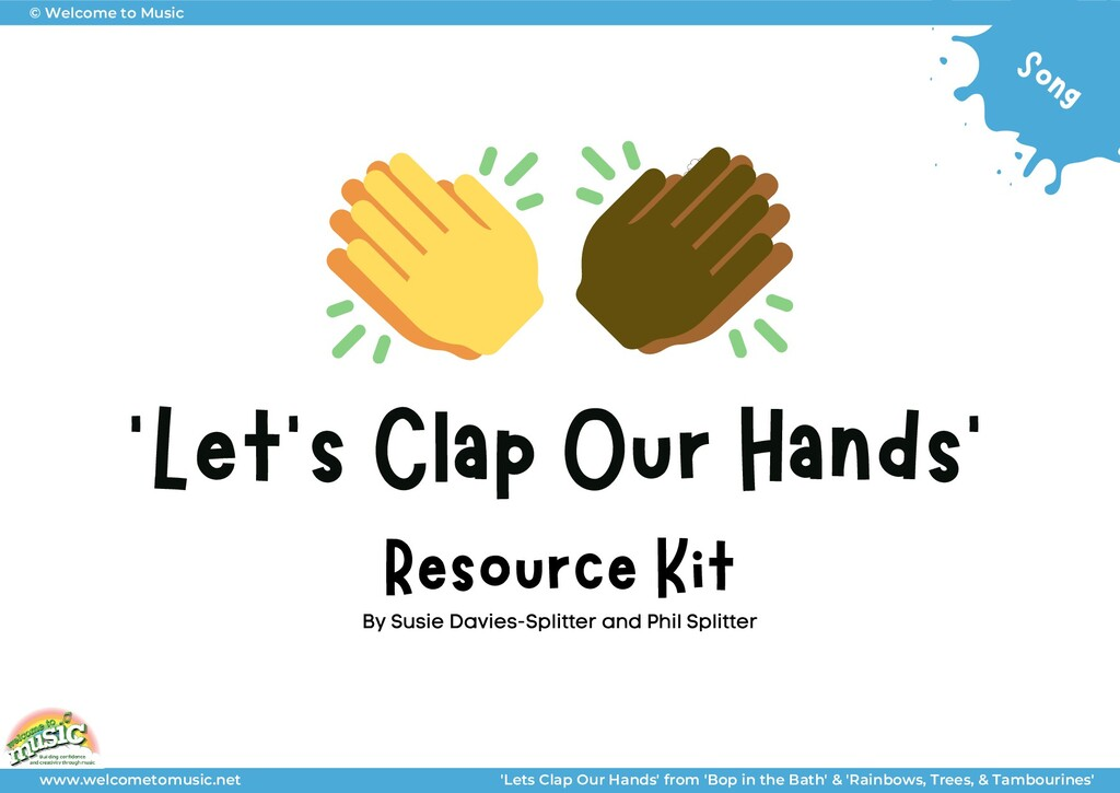 'Let's Clap Our Hands' Resource Kit By Susie Da...