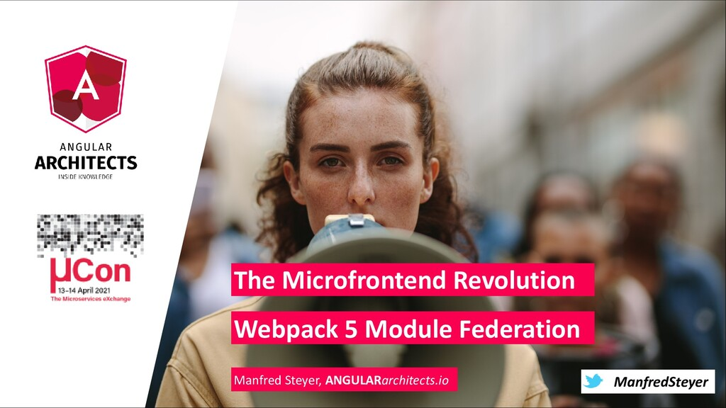 @ManfredSteyer ManfredSteyer The Microfrontend ...