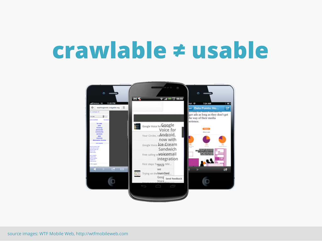 source images: WTF Mobile Web, http://wtfmobile...
