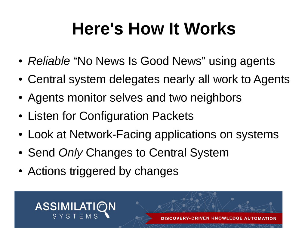 """Here's How It Works ● Reliable """"No News Is Good..."""