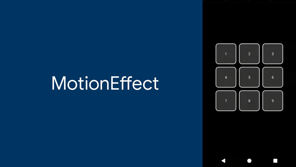 MotionE ff ect