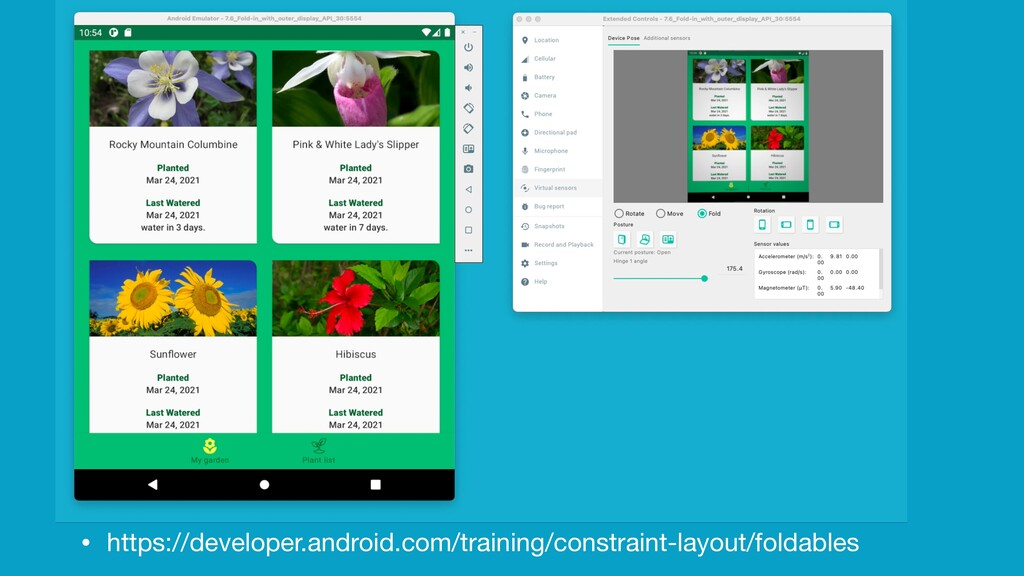 Foldable Support • https://developer.android.co...