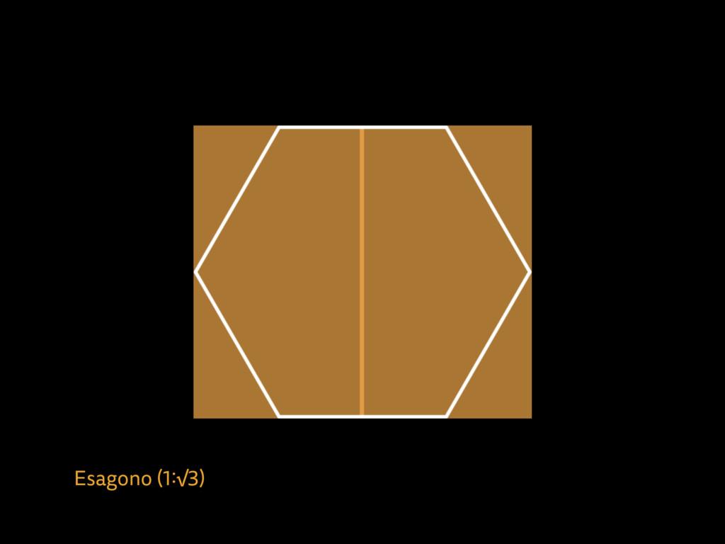 Esagono (1:√3)