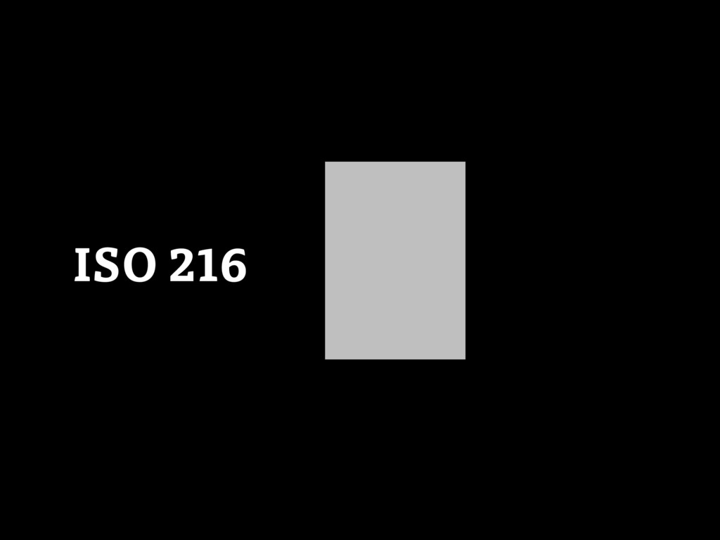 ISO 216 0