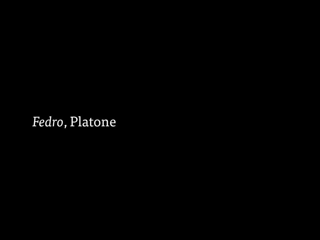 Fedro, Platone