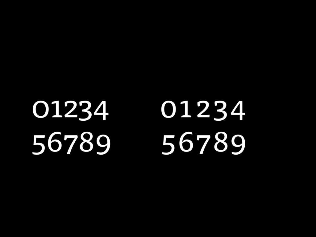 01234 56789 01234 56789