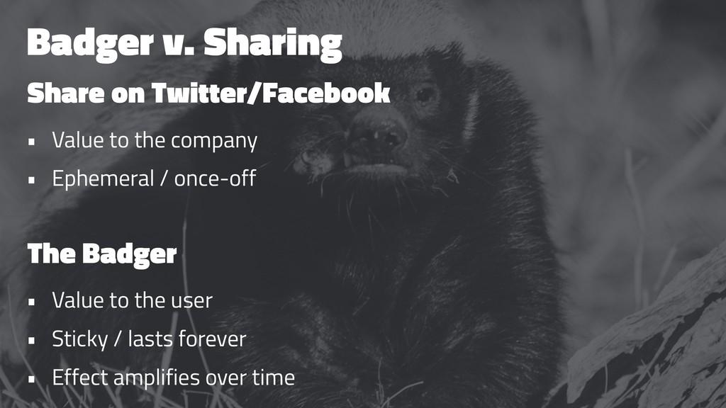 Badger v. Sharing Share on Twitter/Facebook • V...
