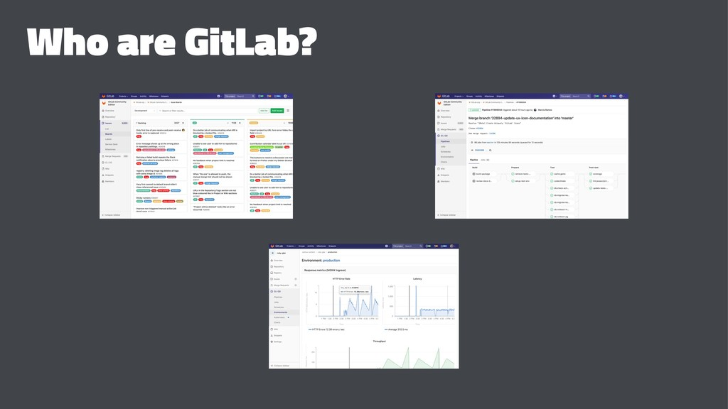 Who are GitLab?