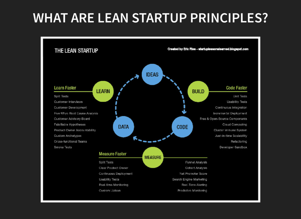 WHAT ARE LEAN STARTUP PRINCIPLES?