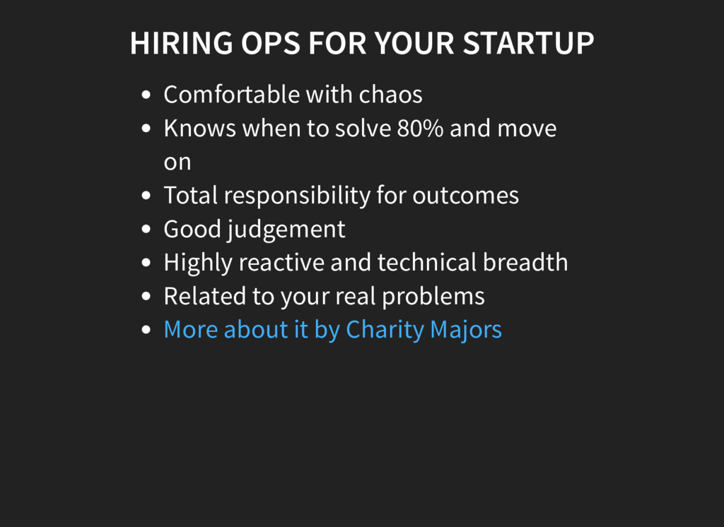 HIRING OPS FOR YOUR STARTUP Comfortable with ch...