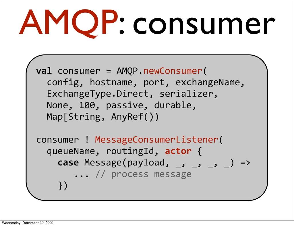 valconsumer=AMQP.newConsumer( config,host...