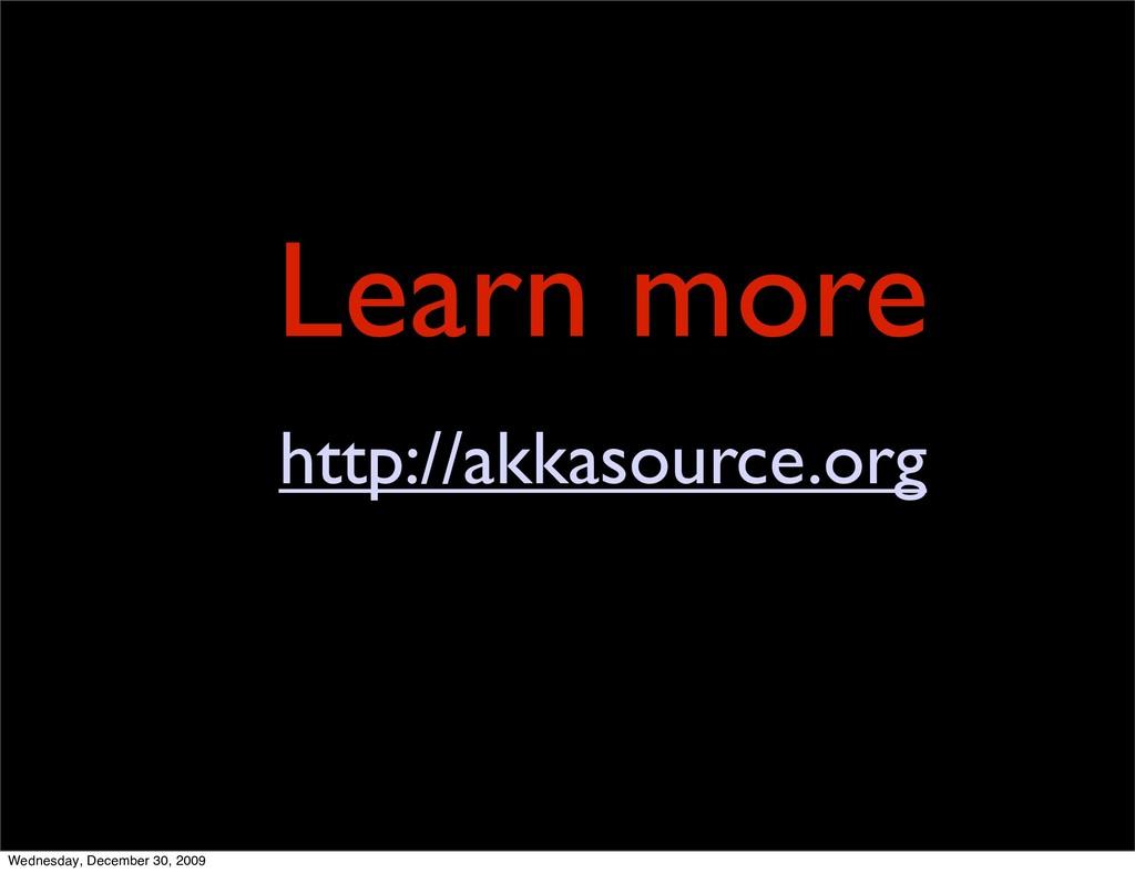 Learn more http://akkasource.org Wednesday, Dec...