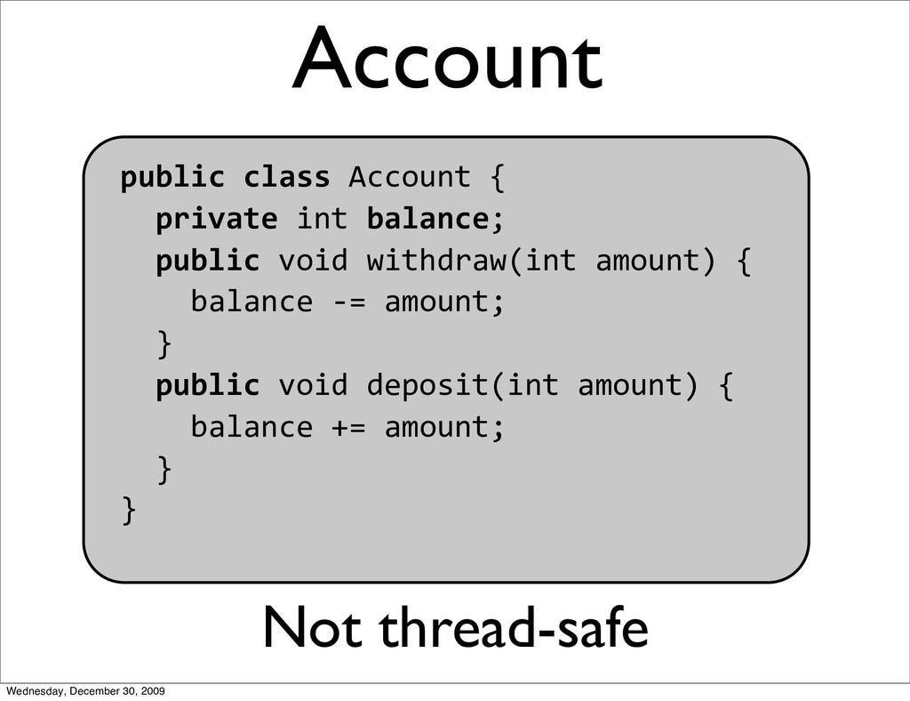 Account publicclassAccount{ privateint...