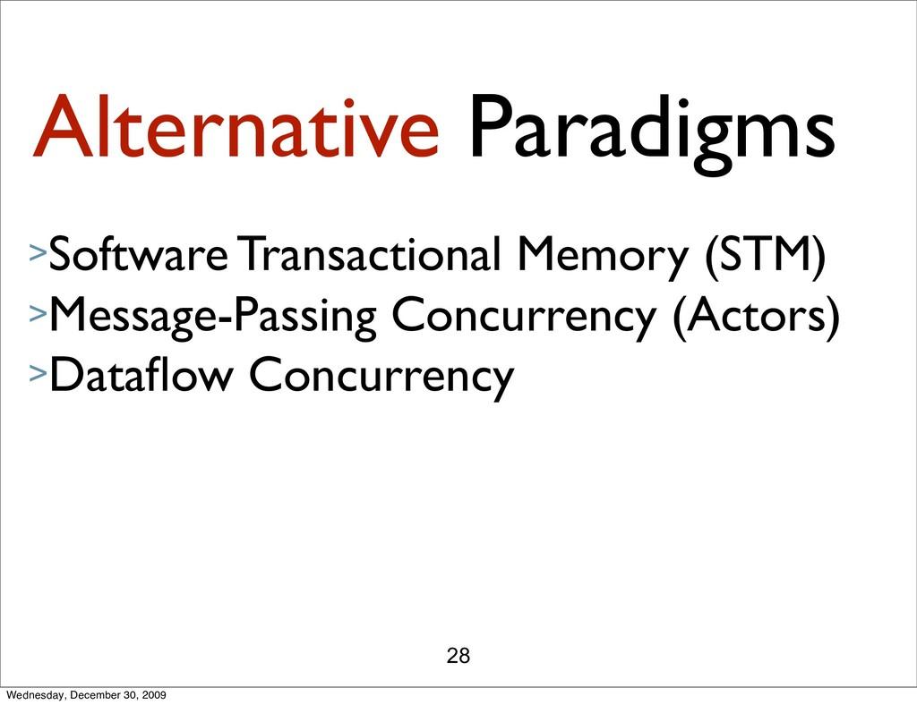 28 Alternative Paradigms >Software Transactiona...