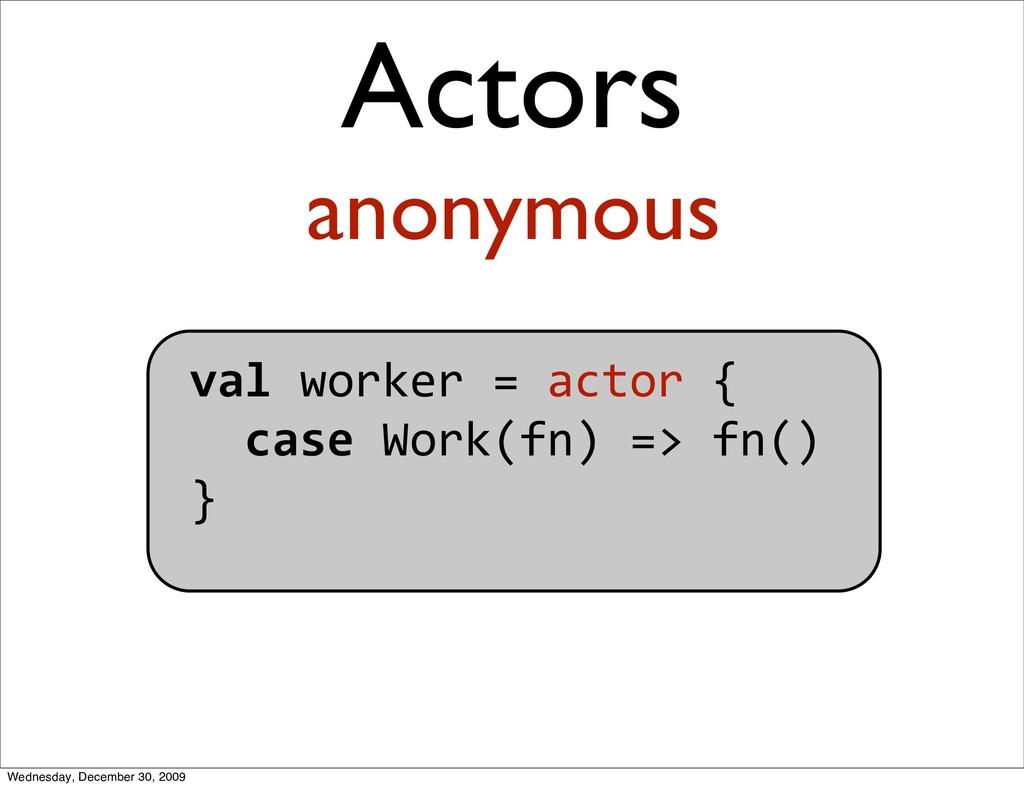 valworker=actor{ caseWork(fn)=>fn() } ...