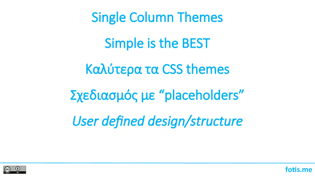 foti.me Single Column Themes Simple is the BEST...