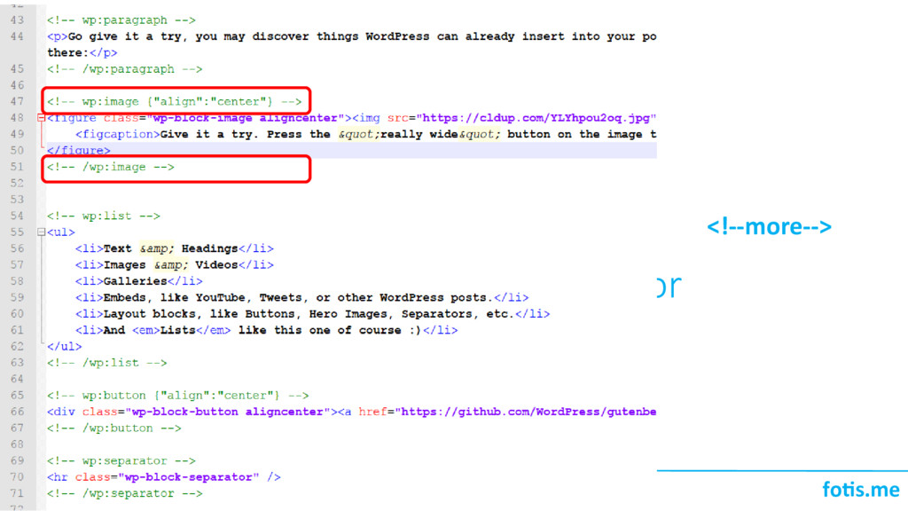 foti.me Blocks! Πως δομούνται στον editor <!--m...