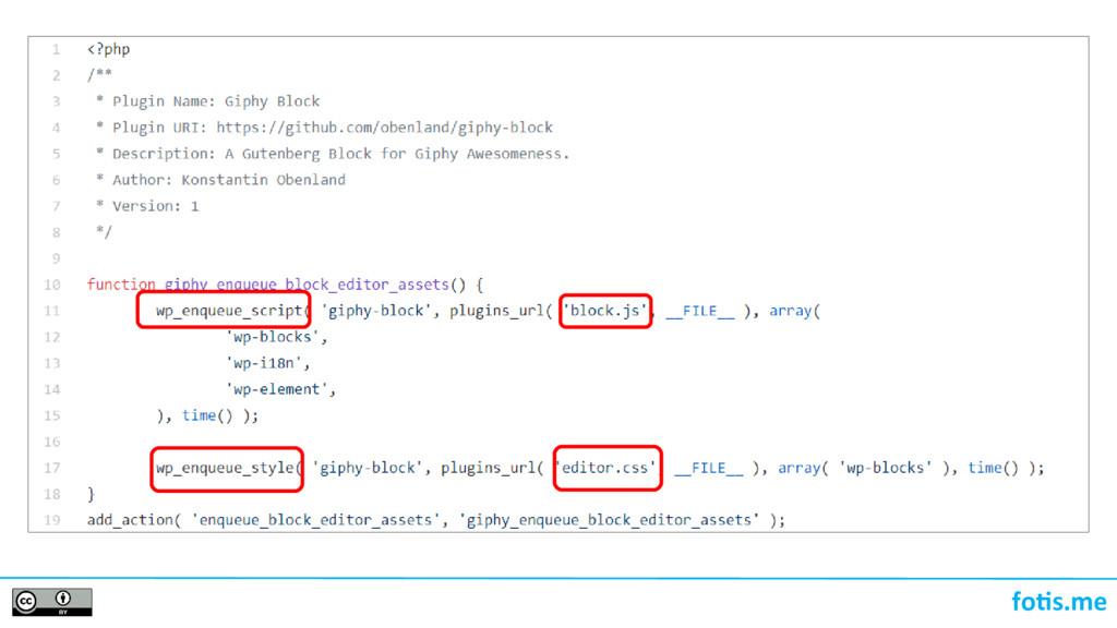 foti.me Λίγη PHP enqueue_block_editor_assets()